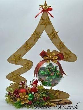 Aprende Como Hacer Adornos De Navidad Reciclando Carton Bricolaje - Adornos-de-navidad-con-carton