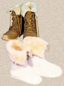 Sorel Boot Liners >> Custom Made Shearling Products Including The Perfect Boot