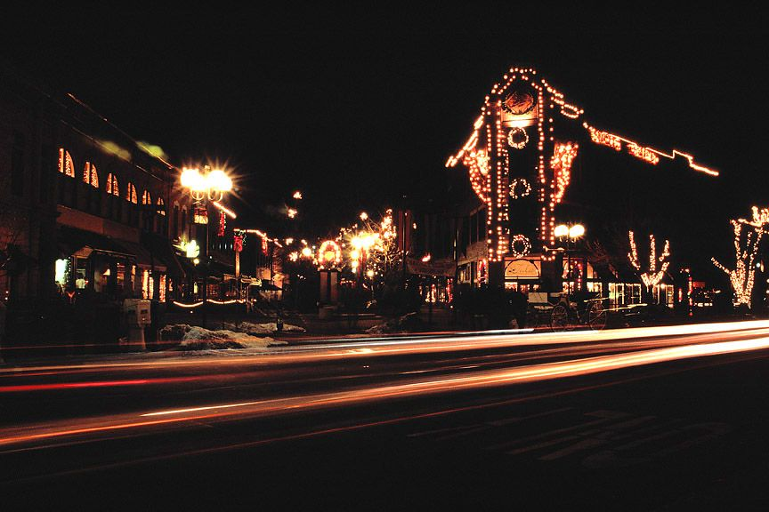 Old Town Lights, Fort Collins, CO Holiday lights display