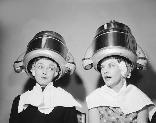 Under Dryer With Images Vintage Hair Salons Vintage Beauty Salon Vintage Salon