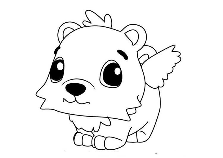 Baby Hatchimals Coloring Pages Designs Trend