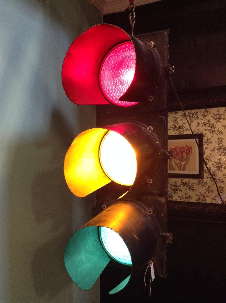 Working Stoplight From Bisbee Stop Light Wall Lights Light Decorations