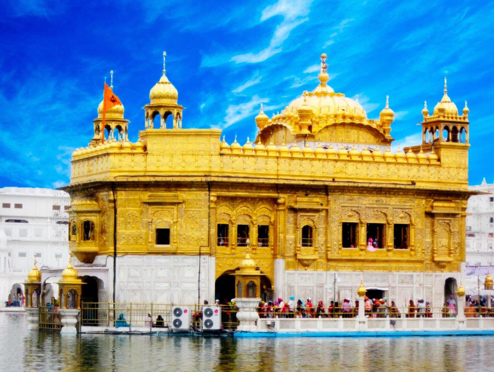Swarn Mandir Golden Temple HD Wallpaper
