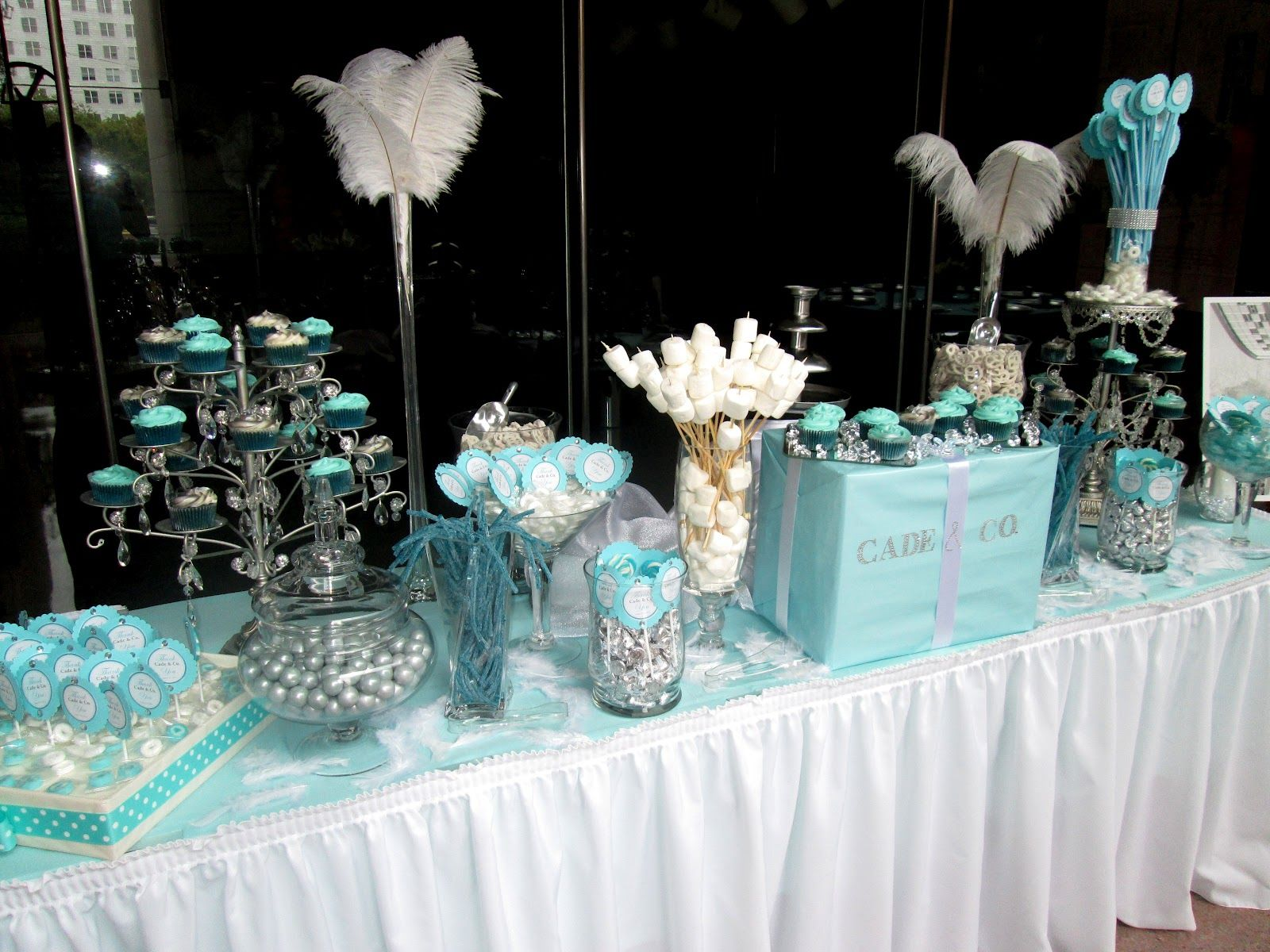 Tiffany Theme Party Real College Student Of Atlanta Co Themed Wedding