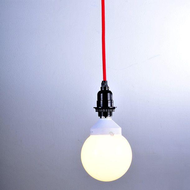 Hanging Lamp Cord Kit Red Studio