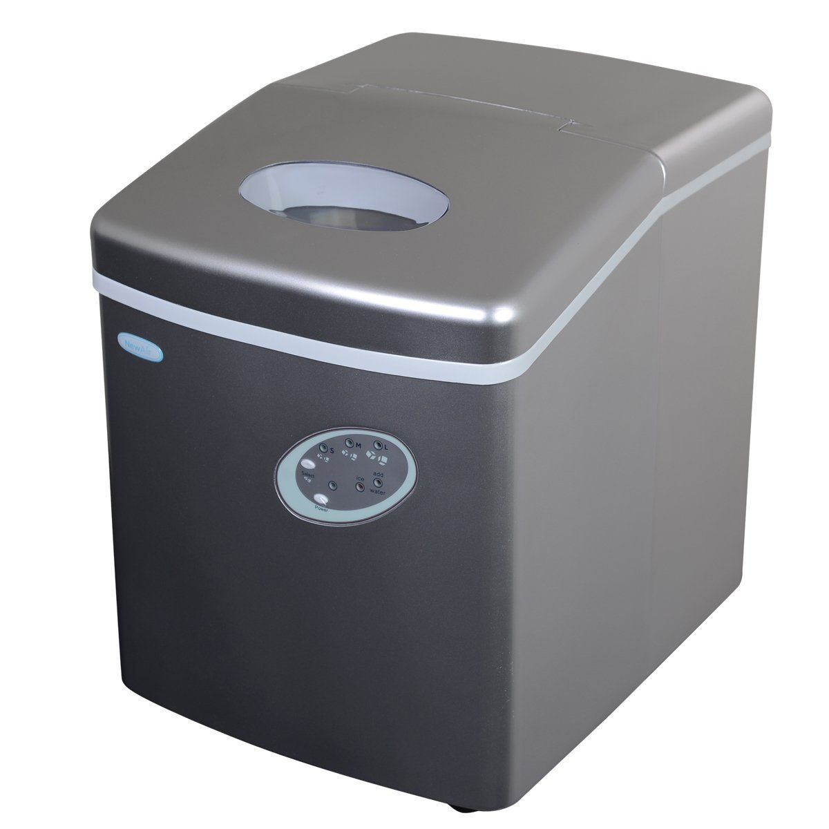 Newair Ai 100s 28 Pound Portable Ice Maker Silver This Is An