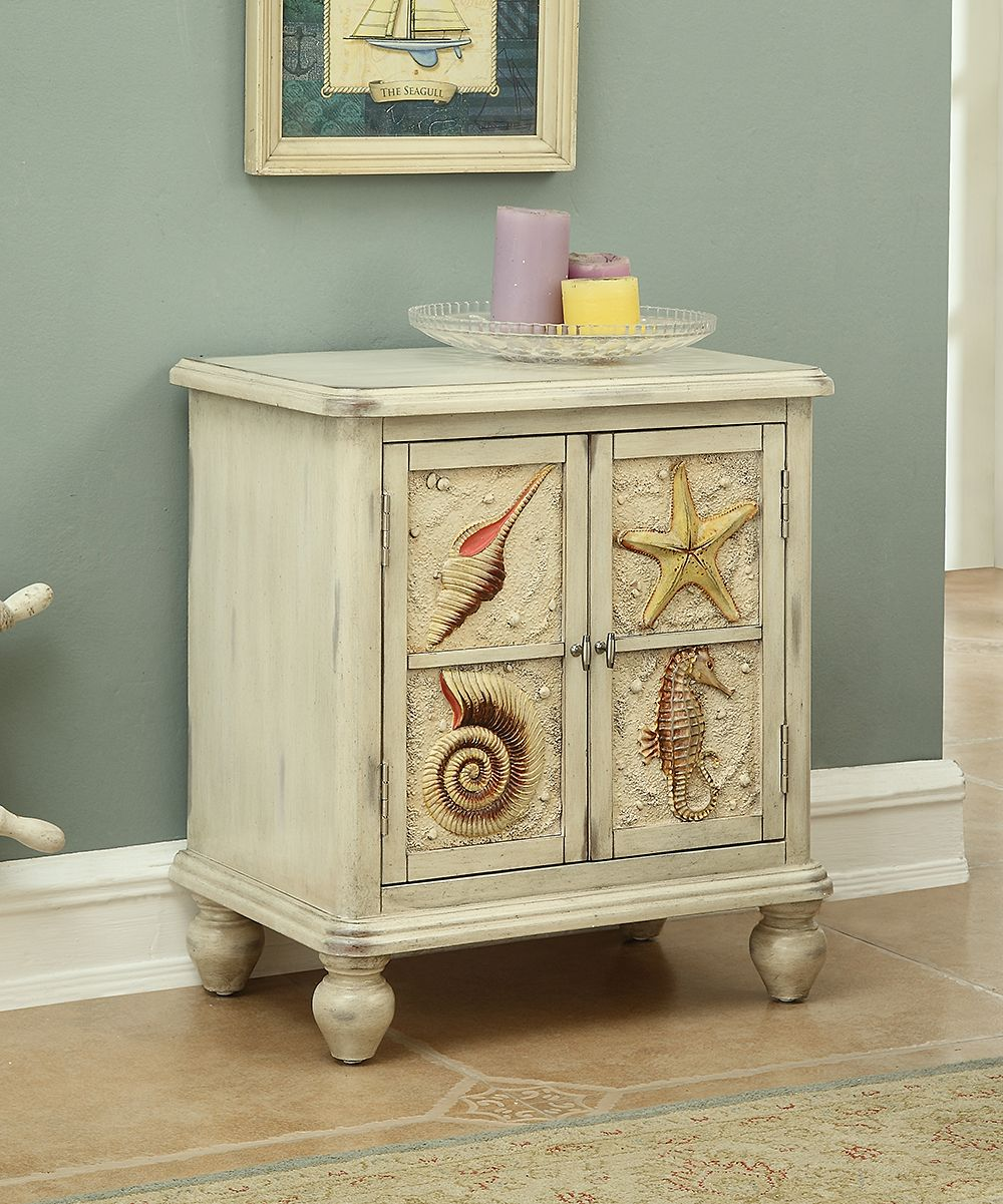 Cream Seashell Small Two Door Cabinet Pinterest Doors And Products