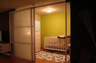 Room Divider Using Stolmen Poles And Ikea Sliding Doors Hacked