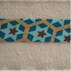 Biaislint Lichtblauw met ster - 20 mm