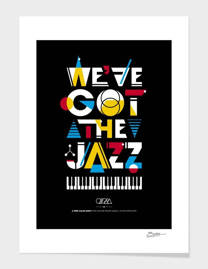 «We've got the Jazz» Art Print by Stéphane Opéra - Limited Edition from $29.9 | Curioos