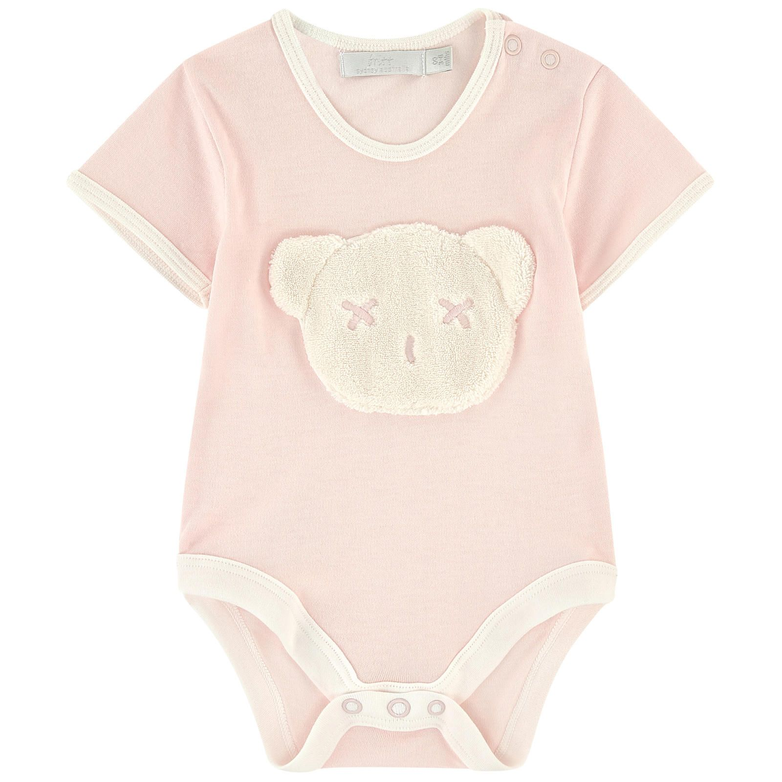 Cuddly teddy bamboo knit onesie LC Girl Clothing and Gifts
