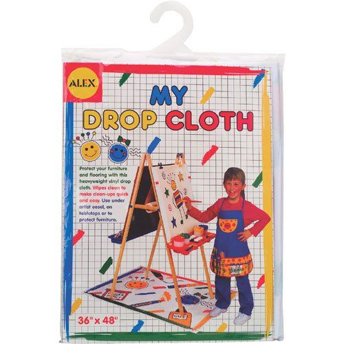 Save $5.00 on ALEX® Toys - Young Artist Studio My Drop Cloth for Painting Easels 310; only $4.99