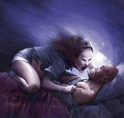 Sleep Paralysis Causes     are real, but it feels as though a demon