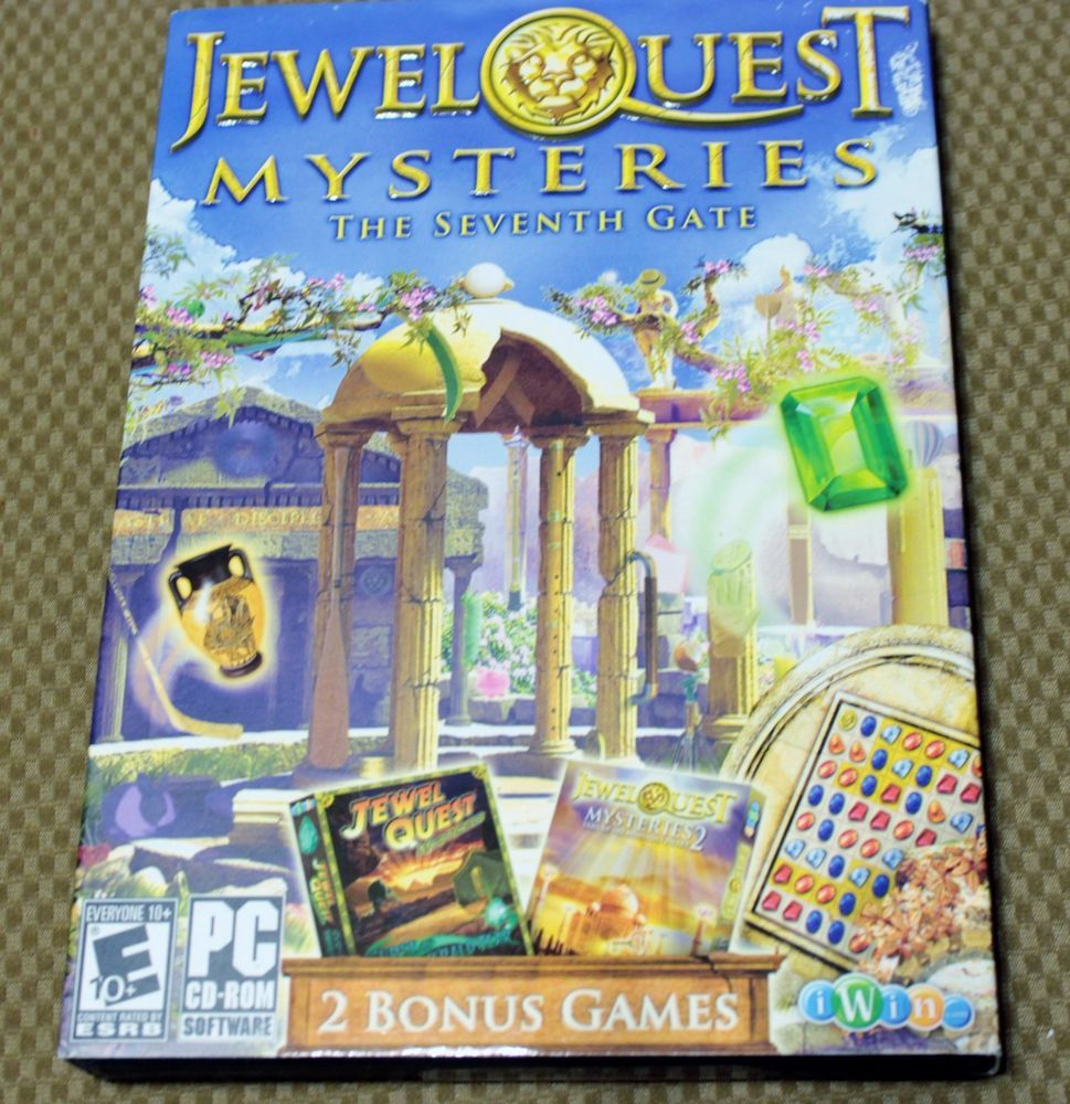 Jewel Quest The Seventh Gate PC Game Windows 7 Vista Xp