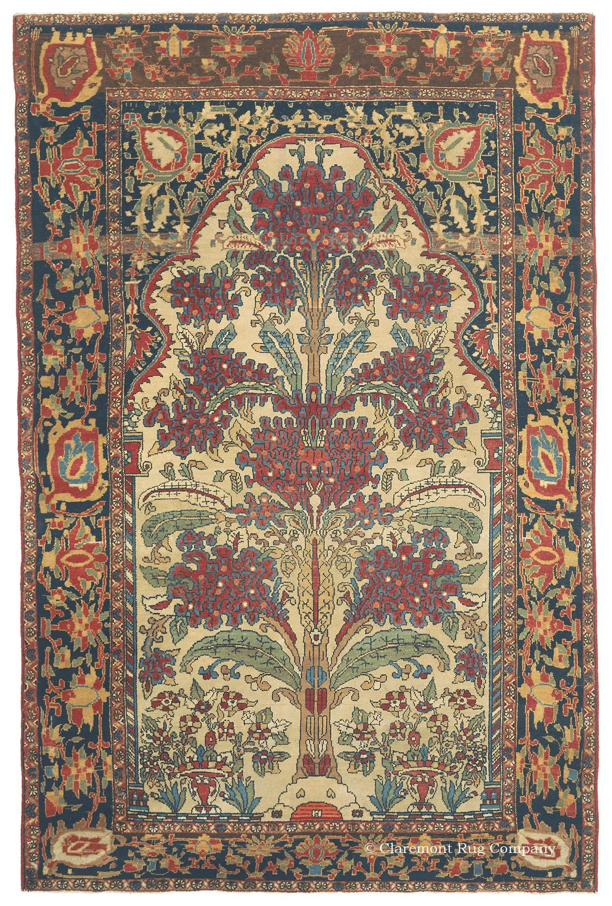 Ferahan Quot Tree Of Life Quot West Central Persian Rugs
