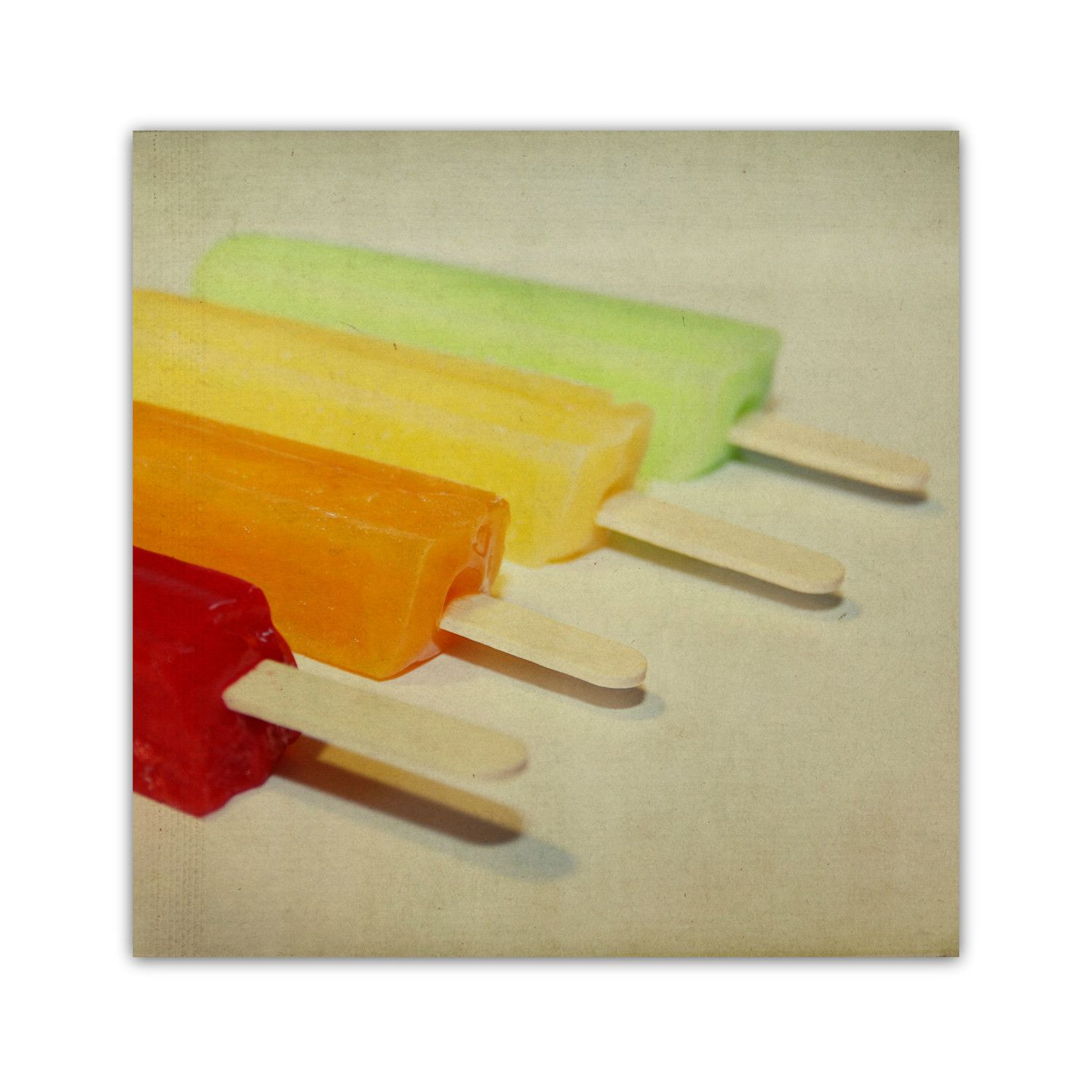 Colorful Popsicle Art. | Inspired By Color | Pinterest | Popsicle ...