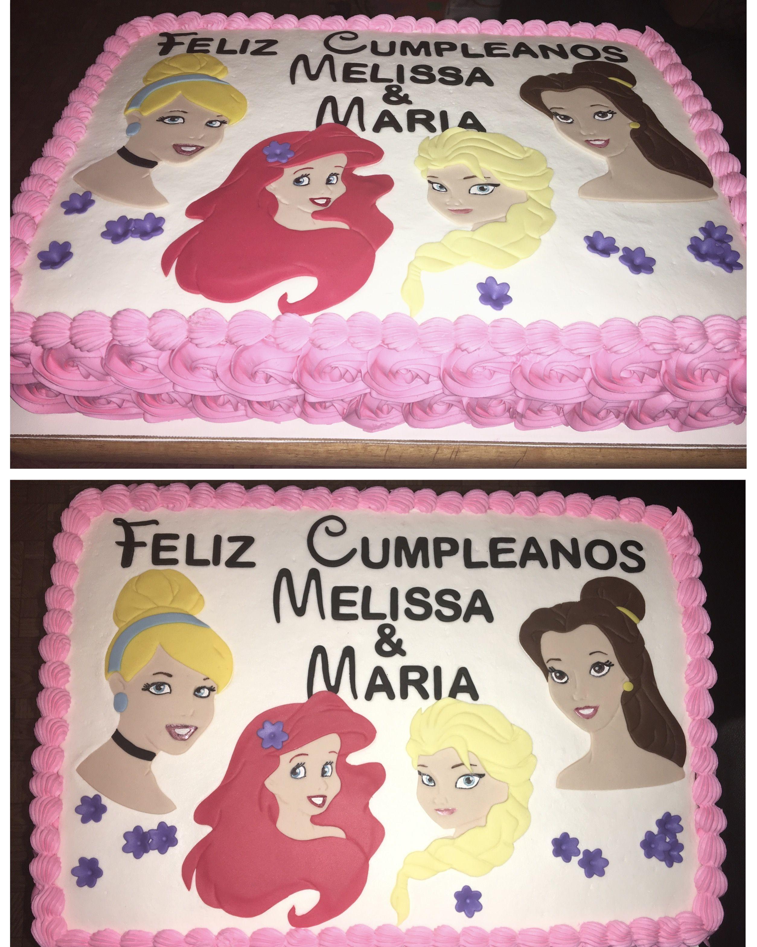 Disney Princess Cake 👑