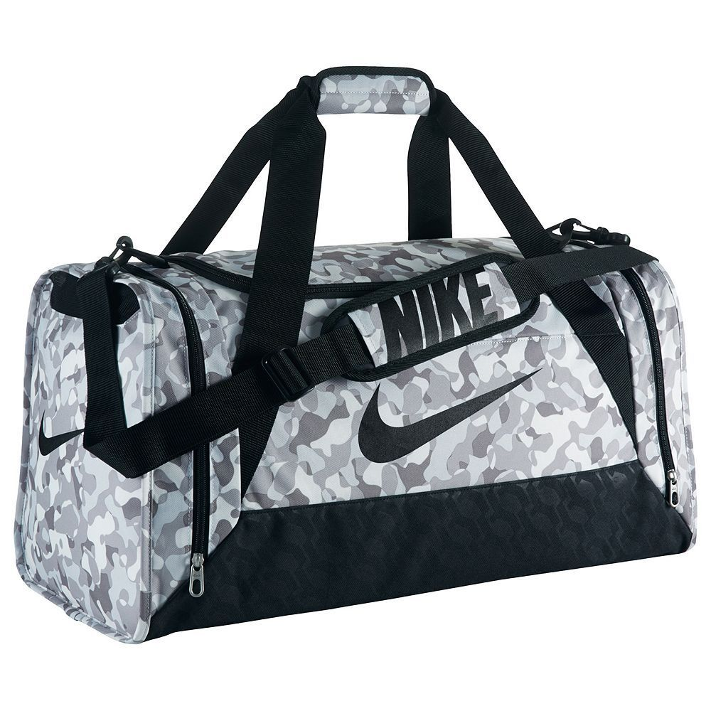 15c89c2c53 Nike Brasilia 6 Medium Graphic Duffel Bag in 2019