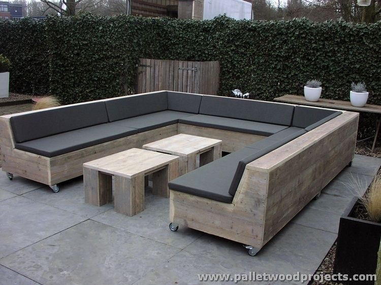 attractive outdoor pallet furniture plans | pallet lounge, lounge