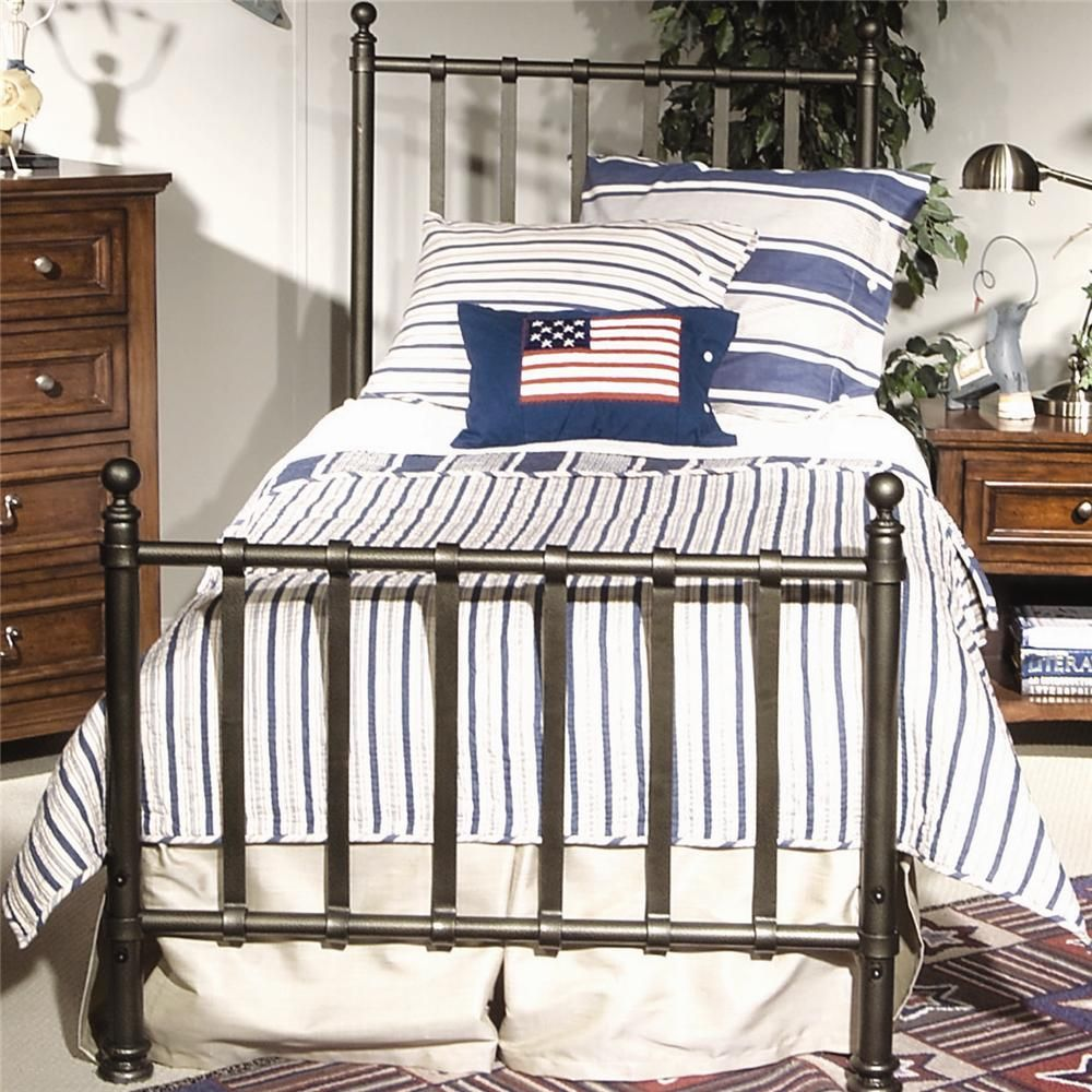 American Spirit Twin Metal Bed By Legacy Classic Kids Bed Frame Metal Bed Frame Simple Bed Frame