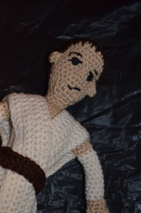12 crochet Rey doll from Star Wars by HaPPyHaTsbyKELI on Etsy