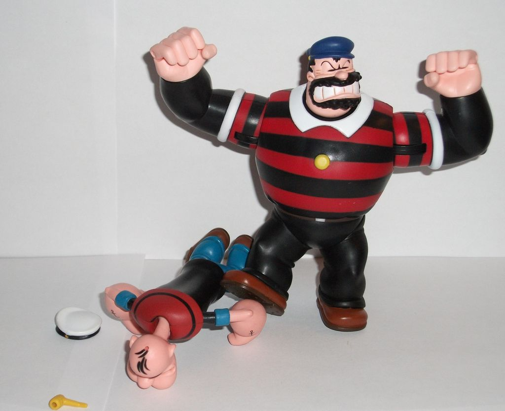 Mezco S Popeye Bluto Action Figure Review Infinite