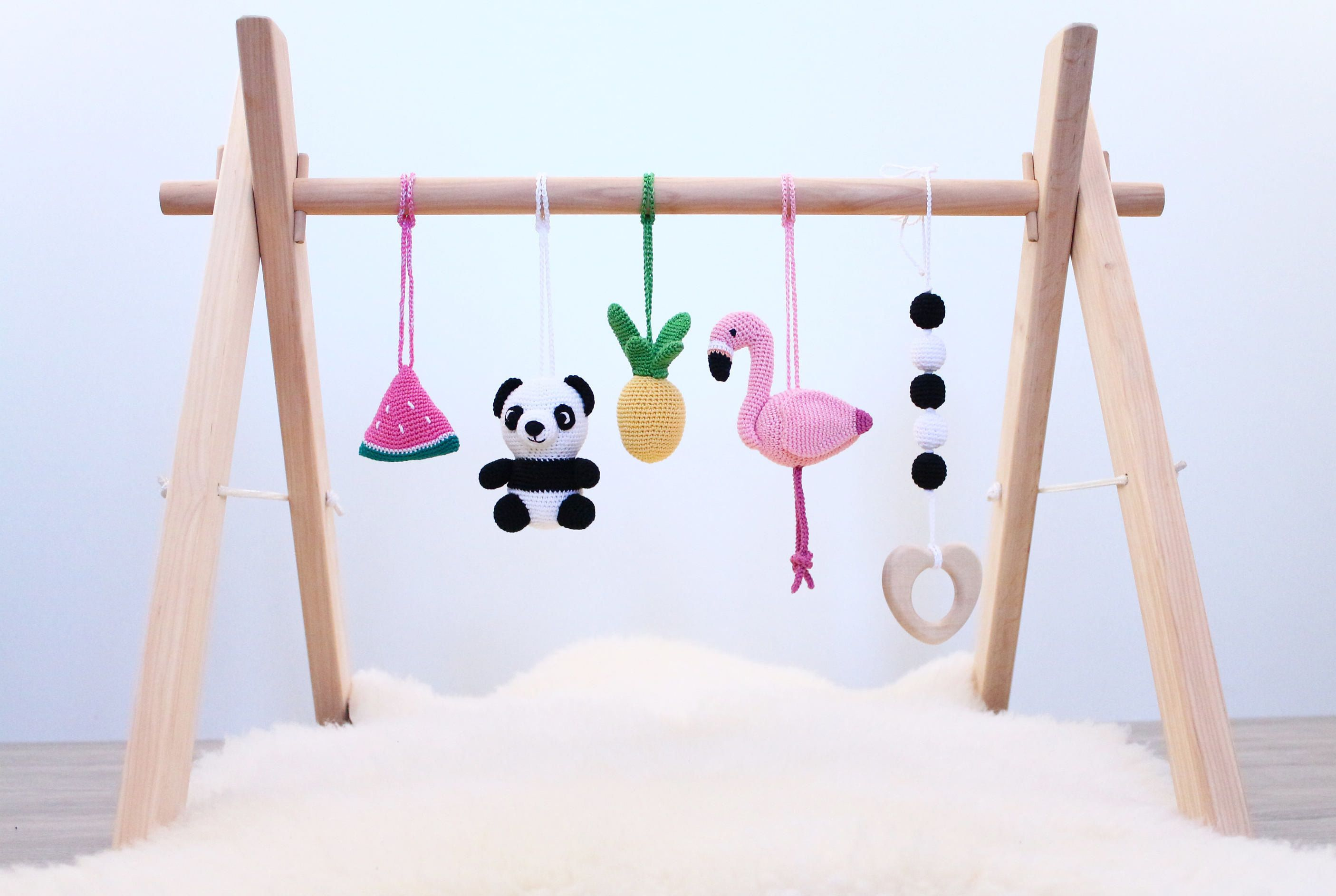 Handmade Wooden Baby Gym// Play Gym// Baby Centre