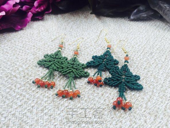 斜卷结圣诞树教程