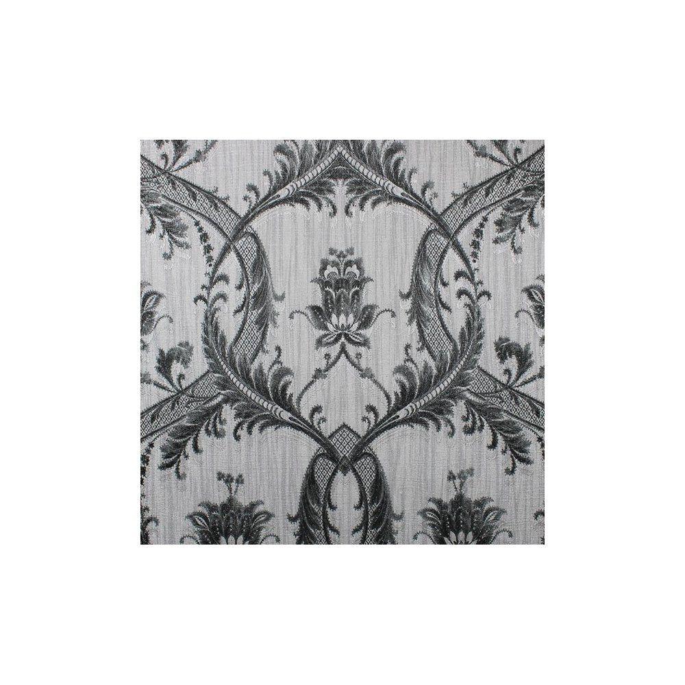 BHF M95565 Milano 4 Damask Silver Wallpaper, Set of 2