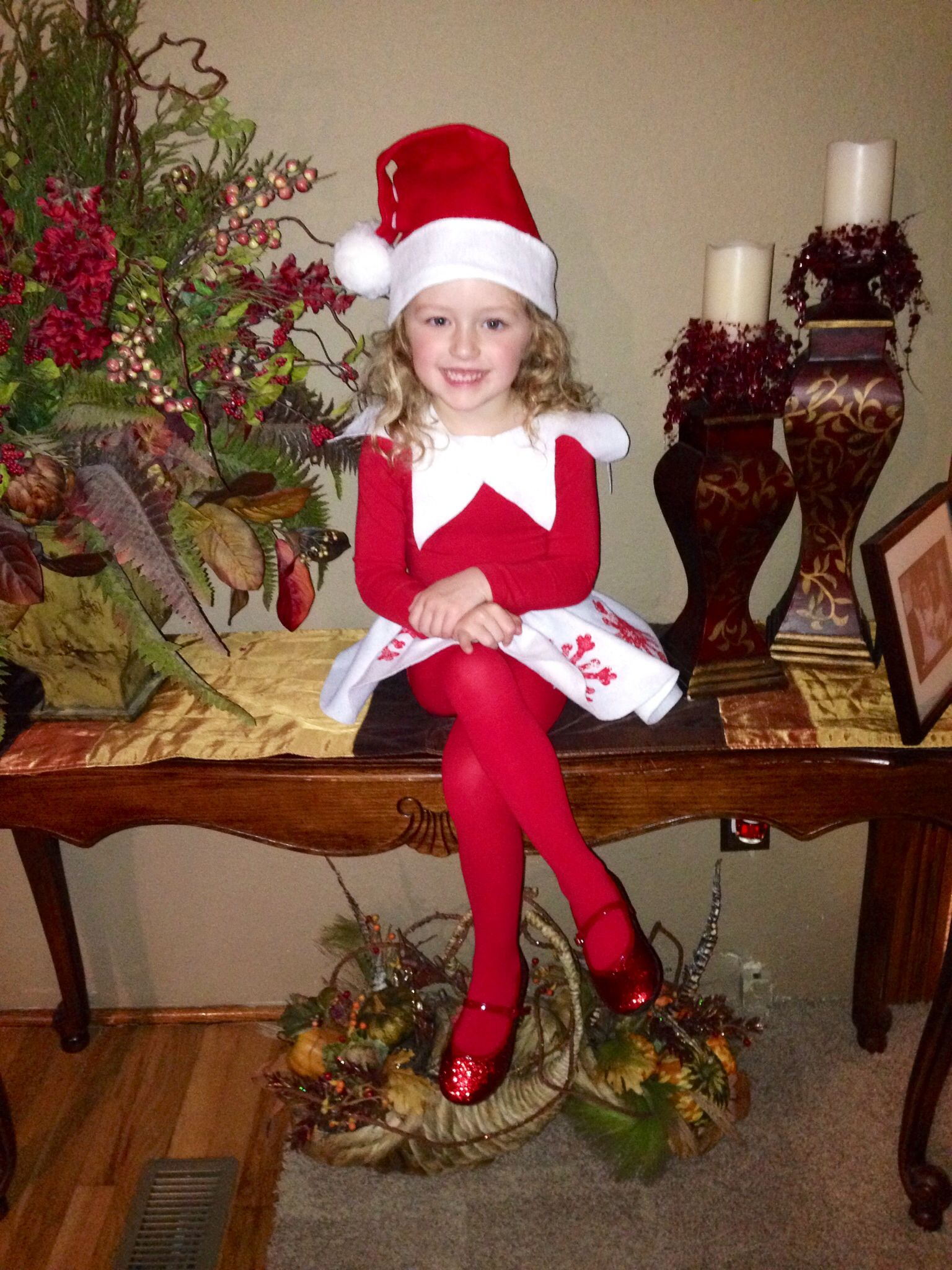 Snowflake the Elf on the Shelf Costume, DoitYourself