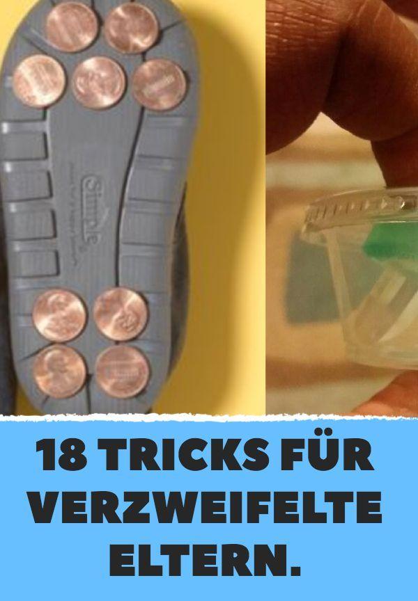 18 nützliche Tricks für alle Eltern kleiner Kinder
