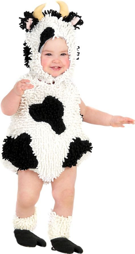 baby kelly the cow costume new costumes infant baby costumes baby toddler costumes halloween costumes categories party city canada - Baby Cow Costume Halloween