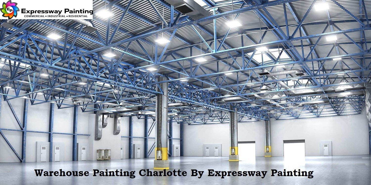 . Warehouse Painting Charlotte By Expressway Painting