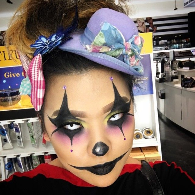 Clown by Oakridge. Upload your Halloween selfie on Sephora's Beauty Board  for a chance to be featured!