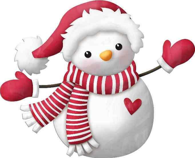 Muñeco De Nieve Dibujo: Navidad, Imágenes De
