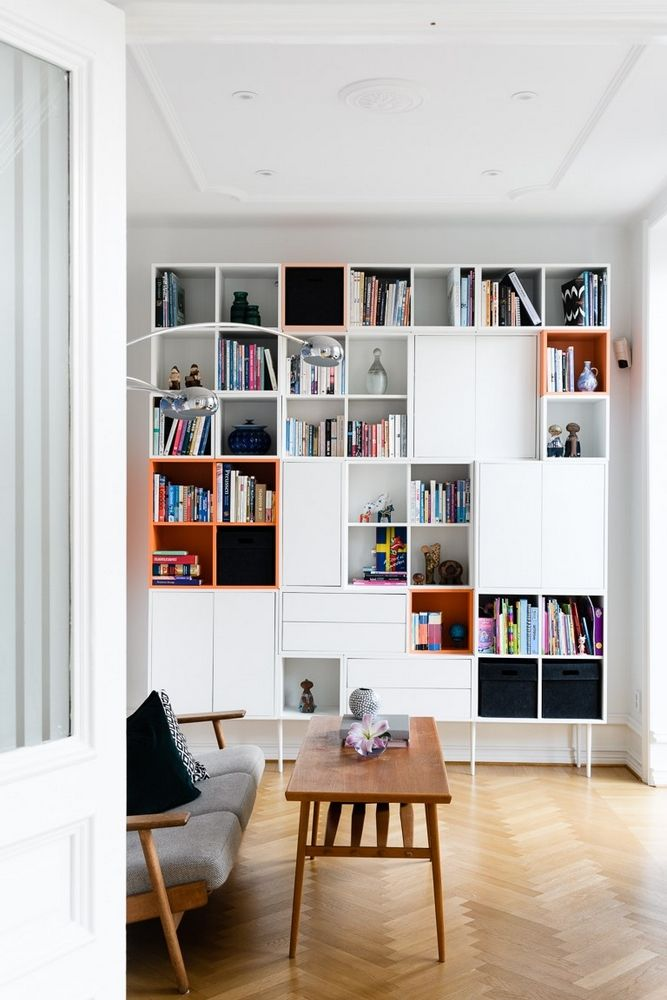 Maison Avec Des Couleurs Franches Sala Ikea, Hallway Inspiration, Dining  Room Inspiration, Ikea