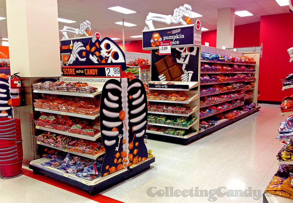 Target Halloween Display - Pumpkin Spice M&M's - Halloween 2013 ...