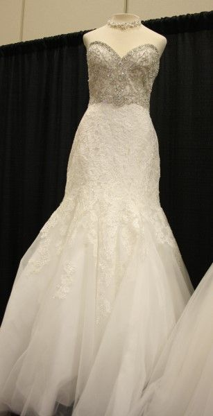 Bridal Gown From The Wedding Tuxedo Connection At The St Cloud Wedding Expo Wedding Dresses Bridesmaid Dresses Wedding Dresses Lace