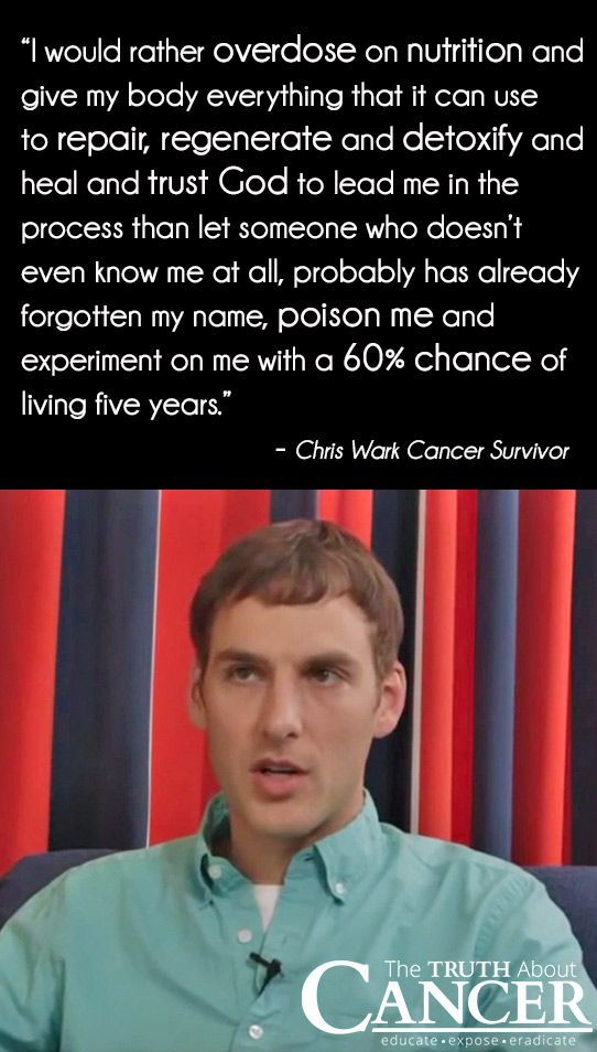 Cancer survivor Chris Wark shares about the moment he decided to