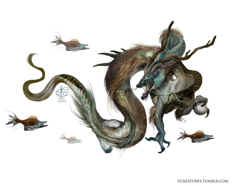 Lung Dragon by V4m2c4 on DeviantArt