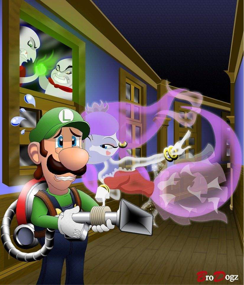 Commission Wrong Mansion By Brodogz On Deviantart Mario