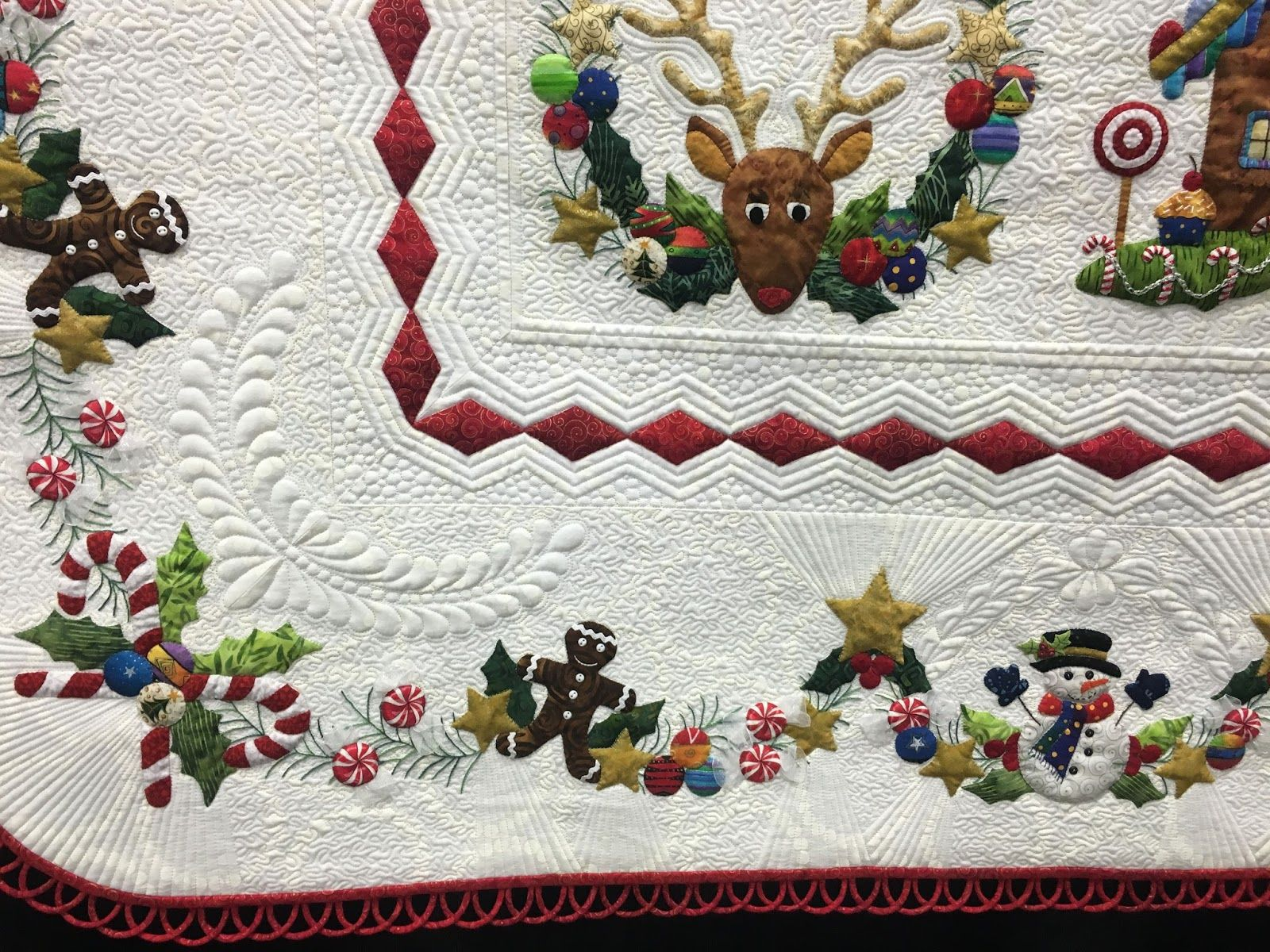 Twas the Night Before Christmas by Linda Neal & Jackie Brown www ... : twas the night before christmas quilt - Adamdwight.com