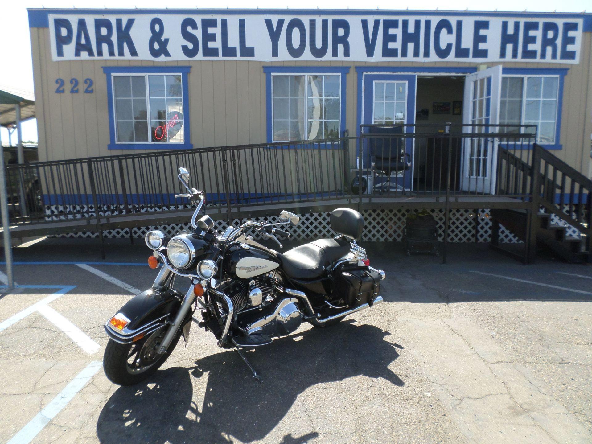 Motorcycle For Sale 2004 Harley Davidson Road King Police Edition In Lodi Stockton Ca Road King Harley Davidson Pictures Harley Davidson