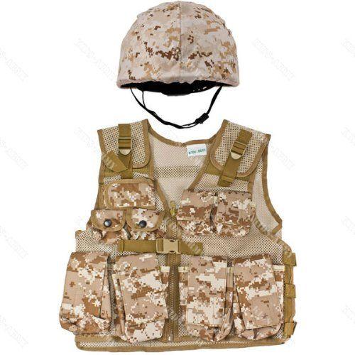 KOMBAT KIDS ARMY CLASP BELT JUNIOR EVERYDAY FANCY DRESS