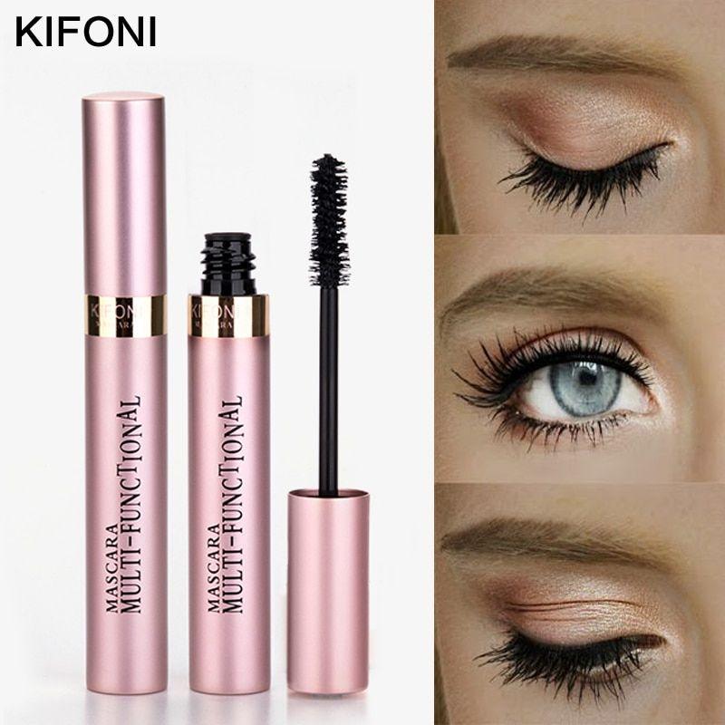 04faf437bd6 KIFONI makeup 4D Silk Fiber Lash Mascara Waterproof Rimel Mascara Eyelash  Extension Black Thick Lengthening Eye Lashes Cosmetics #алиэкспресс  #aliexpress