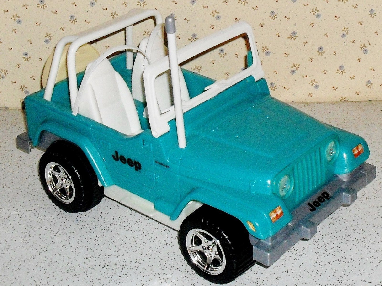 Barbie Remote Control Jeep Wrangler