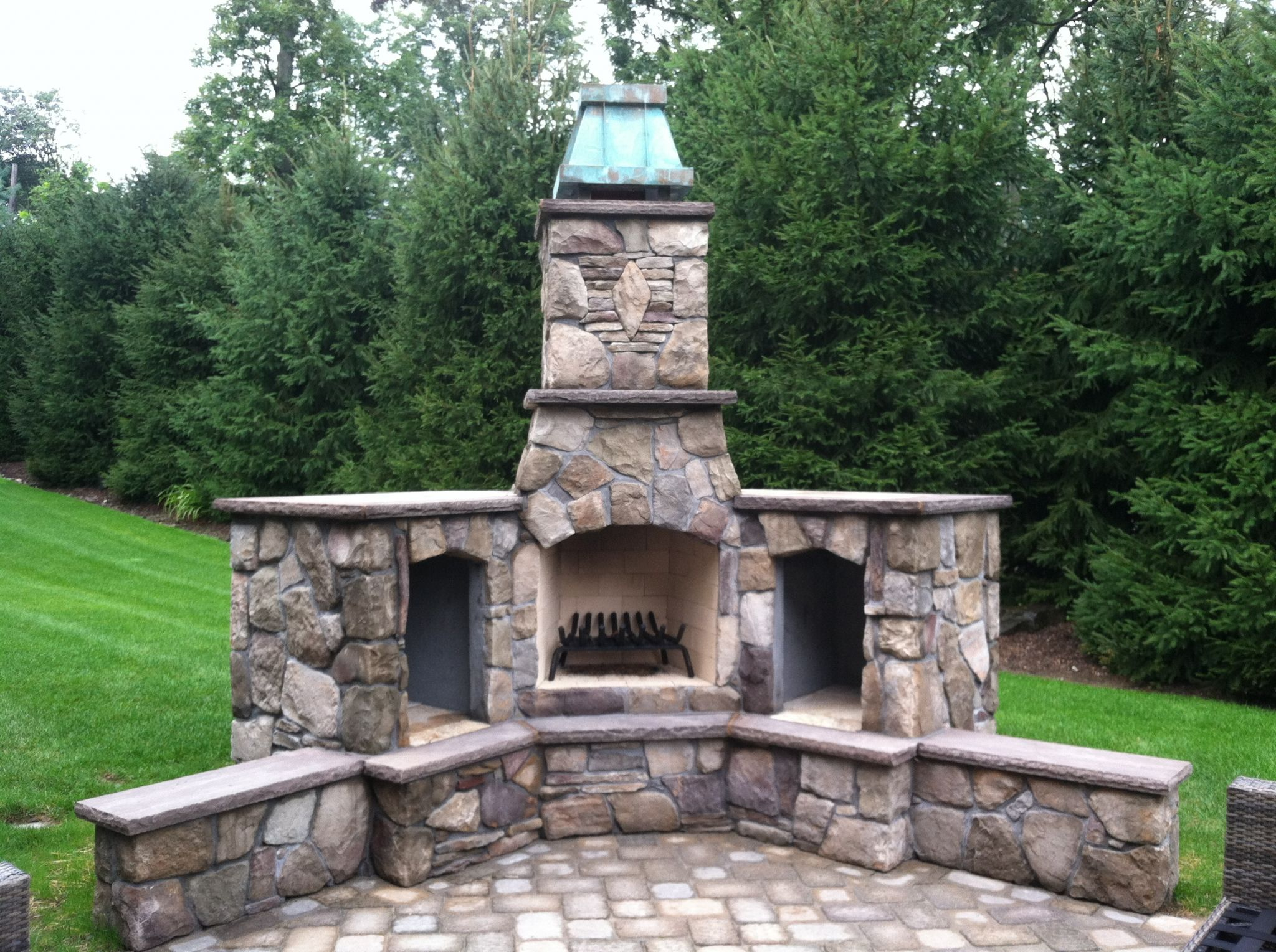 Attirant Outdoor Fireplace Chimney Caps   What Is The Best Interior Paint Check More  At Http: