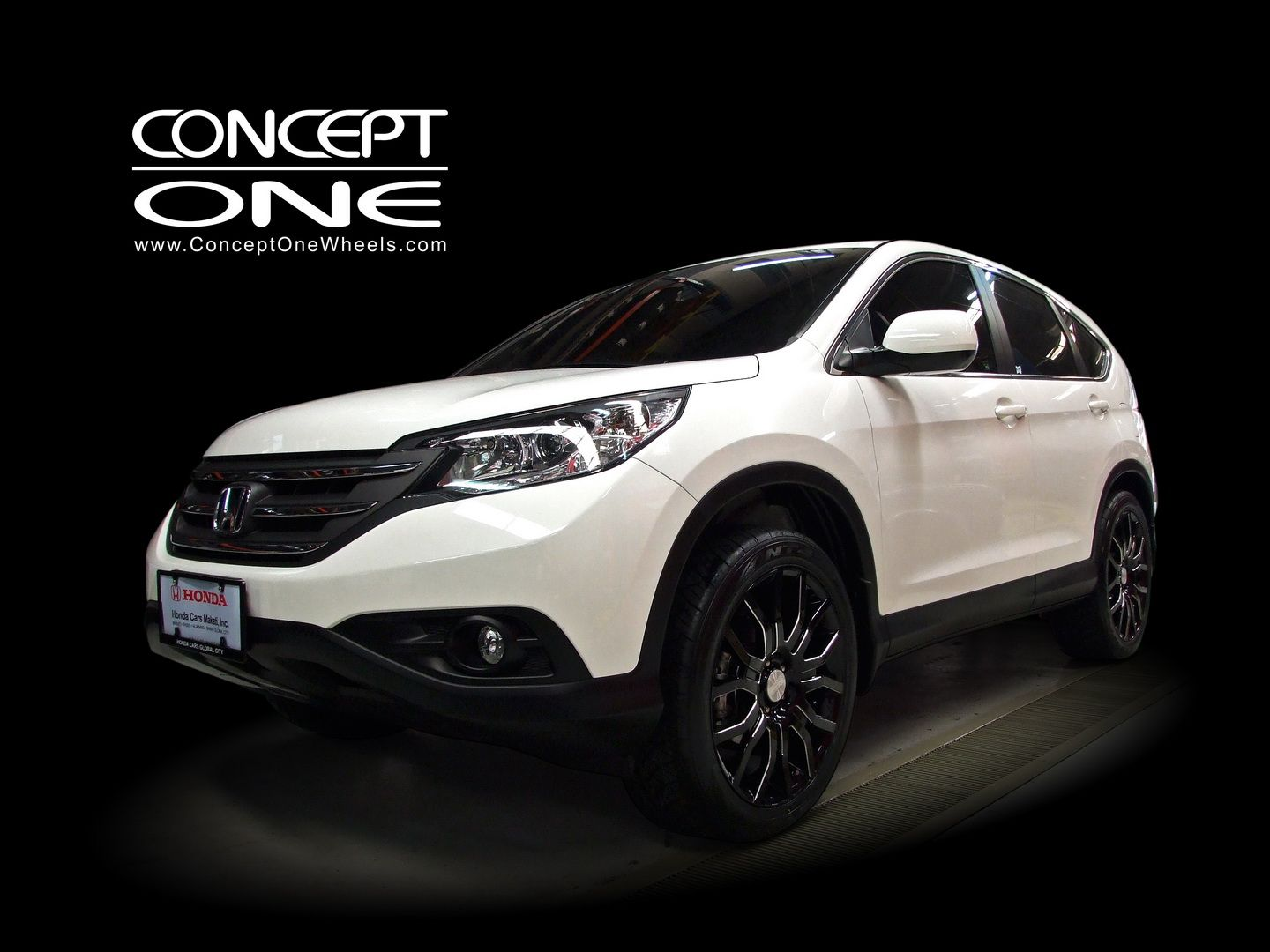 2017 Honda Crv Front View White Color Pictures