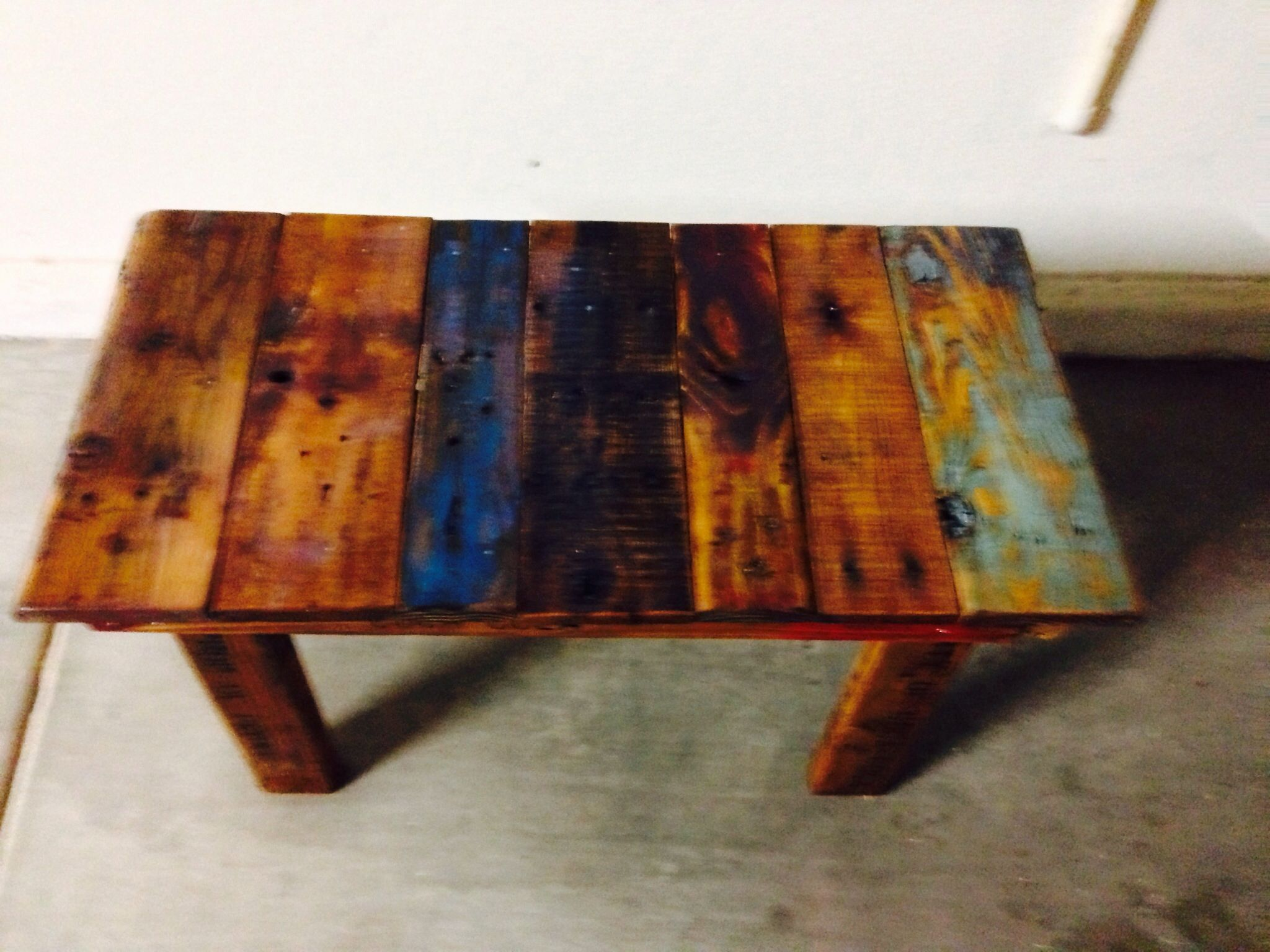 Second side table / Bench