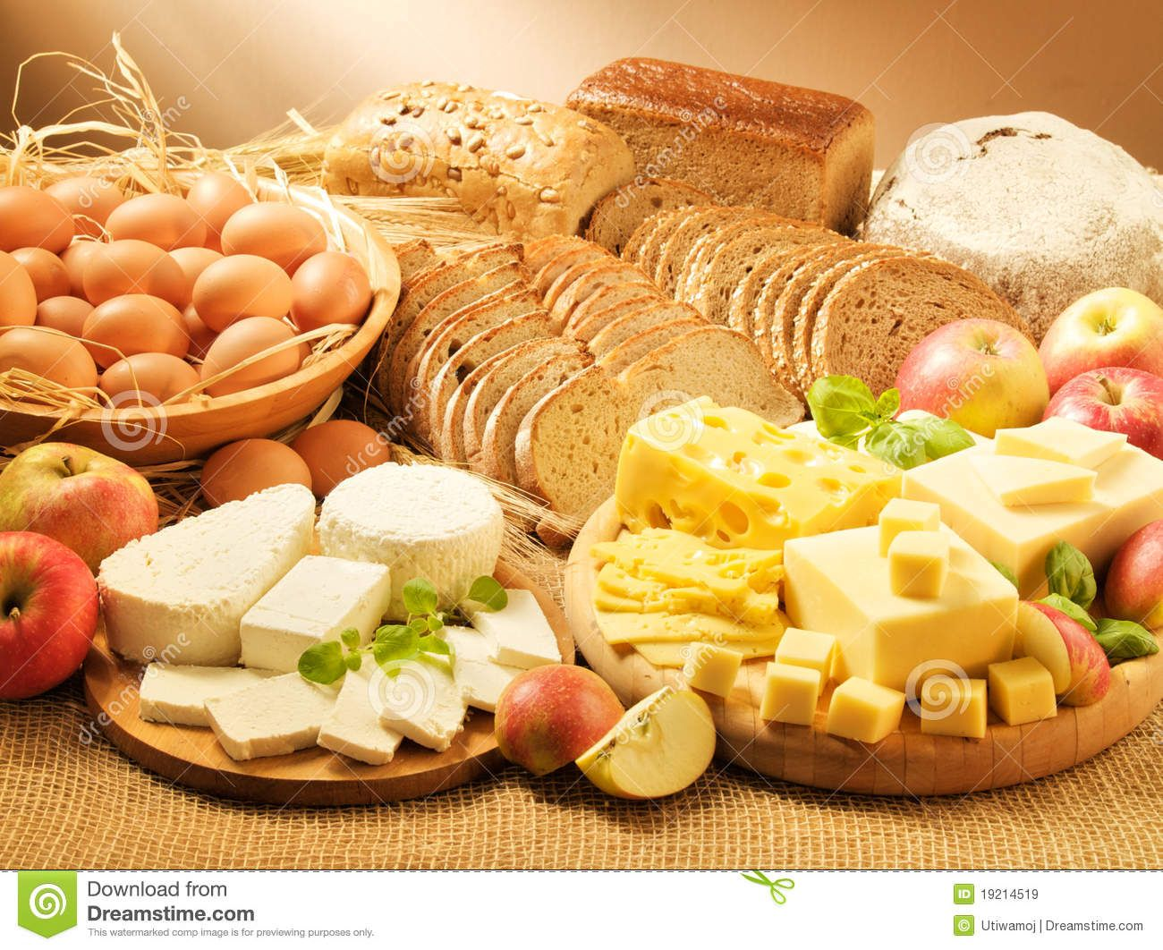 Dairy Food Group Clip Art